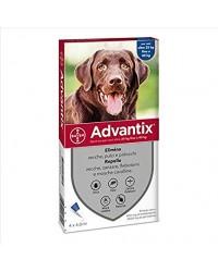 Bayer Antiparassitario Advantix Spot-on per cani (oltre 25Kg fino a 40kg) conf.da 4 pipette € 6,10 cadauna