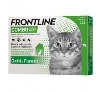 MERIAL - Frontline combo spot on gatti da 3 pipette