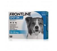 MERIAL  Frontline spot on cani da 4 pipette da 10 a 20 kg  1,34 ml