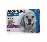 MERIAL  Frontline spot on cani da 4 pipette da 20 - 40 kg 2,68ml