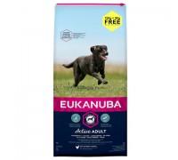 Eukanuba adult taglia grande large da kg 18 (15 Kg + 3 kg omaggio)  OFFERTA !!
