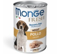Monge Fresh Bocconi in Paté con Pollo  Adult da gr 400