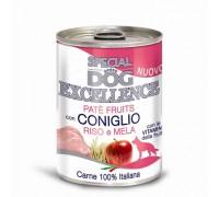 Monge  dog fruits Coniglio Riso e mela monoproteico da 400 gr