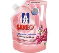 Sanibox Detergente Igienizzante elimina odori da 1 litro Profumazione Fiori di Fresia