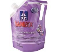 Sanibox Detergente Igienizzante elimina odori da 1 litro Profumazione Lavanda