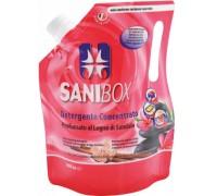 Sanibox Detergente Igienizzante elimina odori da 1 litro Profumazione Legno di Sandalo