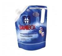 Sanibox Detergente Igienizzante elimina odori da 1 litro Profumazione Fresh Marine