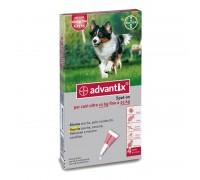 Bayer Antiparassitario Advantix Spot-on per cani (da 10 a 25 kg) conf.da 4 pipette € 5,075 cadauna