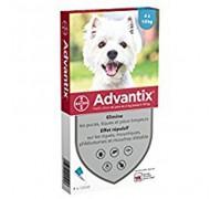 Bayer Antiparassitario Advantix Spot-on per cani (4 - 10 kg) conf.da 4 pipette € 4,475 cadauna