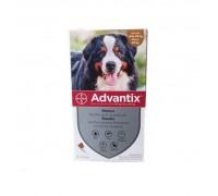 Bayer Antiparassitario Advantix Spot-on per cani oltre 40 kg fino a 60 kg 4 pipette da 6,00 ml