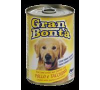 Monge GRAN BONTÀ  Bocconi con pollo e tacchino 1230 gr