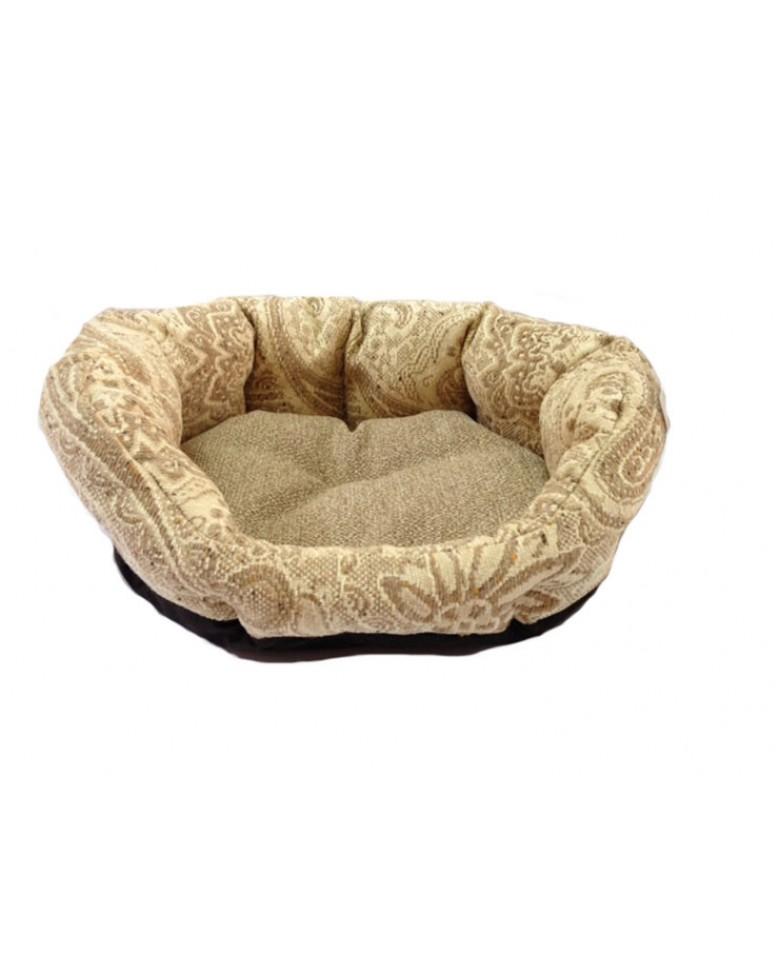 Cuccia divano softy in tessuto damascato leo pet - Divano tessuto damascato ...