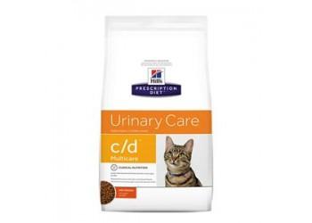 Hill's Prescription Diet c/d Urinary Care Multicare Feline Pollo 10 kg secco gatto