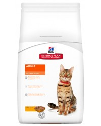 Hill's Science Plan Feline Adult Optimal Care Pollo 400gr secco