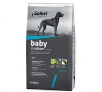 Golosi Baby medium con pollo e riso per cuccioli di taglia media da 1 a 12 mesi da kg 12