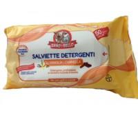 Bayer - Salviette vaniglia e cannella  per gatti 50 pz