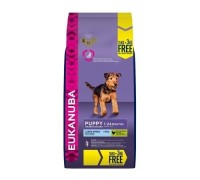 Eukanuba puppy taglia grande large  da kg 18 (15 Kg + 3 kg omaggio) OFFERTA !!