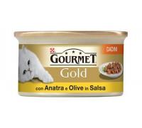 Purina Nestlè Gourmet Gold Dadini in salsa gr 85 con ANATRA E OLIVE
