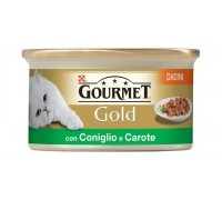 Purina Nestlè Gourmet Gold Dadini in salsa gr 85 con CONIGLIO E CAROTE