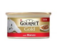 Purina Nestlè Gourmet Gold Dadini in salsa gr 85 con MANZO