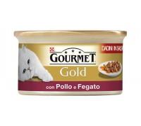 Purina Nestlè Gourmet Gold Dadini in salsa gr 85 con POLLO E FEGATO