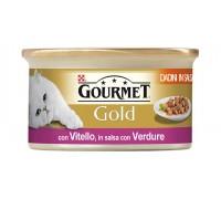 Purina Nestlè Gourmet Gold Dadini in salsa gr 85 con VITELLO E VERDURE