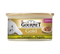 Purina Nestlè Gourmet Gold Doppio Piacere gr 85 con CONIGLIO E FEGATO