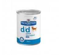 Hill's Prescription Diet Canine d/d Agnello disturbi della cute 370gr umido