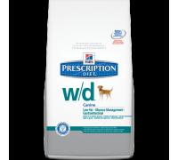Hill's Prescription Diet Cane w/d diabete e obesità 1,5Kg secco