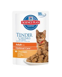 Hill's Science Plan Feline Adult Optimal care Pollo 85gr Bustina Umido