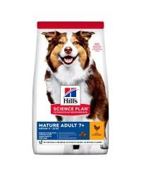 Hill's Science Plan Canine Mature Adult 7+ Active Longevity Medium con Pollo 12 kg secco
