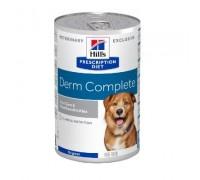 HILL'S PRESCRIPTION DIET  NUTRITION CANINE DERM COMPLETE 370 GR UMIDO PER CANE