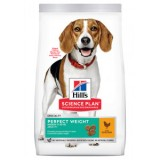 Hill's Science Plan Perfect Weight Medium Alimento per Cani con Pollo da kg 12