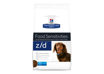 Hill's Prescription Z/D Mini Food Sensitivities per cane da kg 1,5