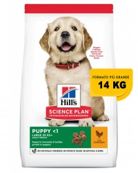 Hill's Science Plan Puppy Healthy Development Large Breed Chicken 14,5 Kg secco ex 12 kg OFFERTA € 2,88 / kg