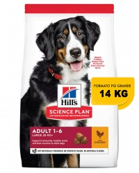 Hill's Science Plan Canine Adult Advanced Fitness Large Breed con Pollo 14 Kg  secco ex 12 kg OFFERTA  € 2,57 / kg !!