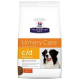 Hill's Prescription Diet c/d Multicare Alimento per Cani al Pollo da kg 12