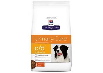 Hill's Prescription Diet c/d Multicare Alimento per Cani al Pollo da kg 12