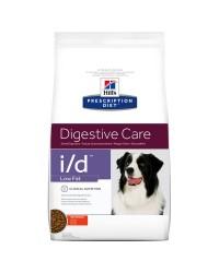 Hill's Prescription Diet i/d Low Fat digestive care disturbi gastrointestinali del cane da 12 kg alimento secco con Pollo