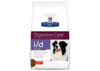 Hill's Prescription Diet i/d Low Fat disturbi gastrointestinali del cane da 12 kg alimento secco con Pollo