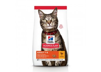 Hill's Science Plan Feline Adult Optimal Care Pollo 7 kg secco