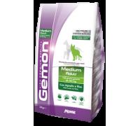 Monge Gemon by Monge MEDIUM ADULT con Agnello e Riso da 15 Kg per cani da 1- 8 anni peso 12 - 30 kg