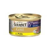 Purina Gourmet Gold MOUSSE +7 ANNI CON POLLO 85gr
