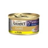 Purina Gourmet Gold MOUSSE +7 ANNI CON POLLO 85gr
