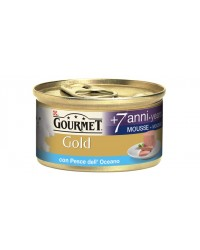 Purina Nestlè Gourmet Gold MOUSSE CON PESCE DELL'OCEANO 7+ 85gr