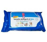 Bayer - Salviette Detergenti talco per gatti  50 pz