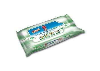Bayer - Salviette Detergenti aloe per gatti 50 pz