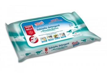 Bayer - Salviette Detergenti muschio bianco per gatti 50 pz