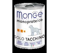 Monge SUPERPREMIUM Monoproteico Solo tacchino 400gr